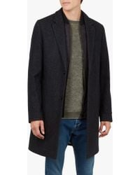 Ted Baker - Cambear 2 Button Overcoat - Lyst