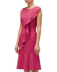 Adrianna Papell - Bodycon Corkscrew Dress - Lyst