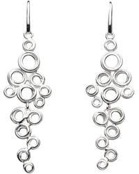 Kit Heath - Coil Cluster Drop Earrings - Lyst