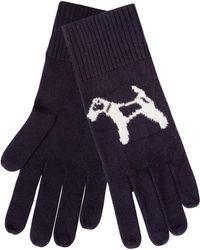 Hobbs - Navy 'bailey Dog' Gloves - Lyst