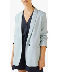 3db6d48259 Seasalt Casting Call Linen Jacket in Blue - Lyst