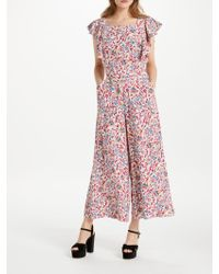 Somerset by Alice Temperley - Fireflower Jumpsuit - Lyst