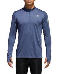 Adidas | Response Long Sleeve Running Top | Lyst