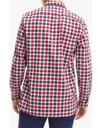 Tommy Hilfiger Oxford Check Shirt - Red