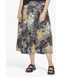 Thought Brielle Pleat Skirt - Grey