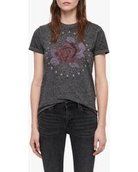 AllSaints - Eden Imogen T-shirt - Lyst