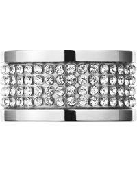 Dyrberg/Kern - Emily Crystal Band Ring - Lyst