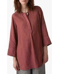 Toast - Garment Dyed Linen Top - Lyst