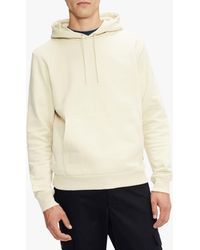 Ted Baker Signi Cotton Hoodie - Natural