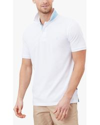 Joules Classic Fit Polo Shirt - White