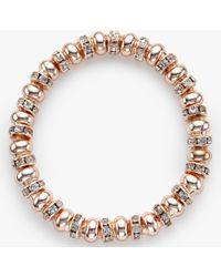 John Lewis   Glass Pave Bead Stretch Bracelet   Lyst