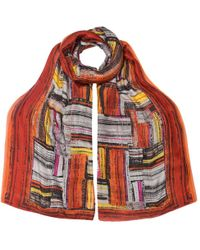 East - Marcelle Silk Print Scarf - Lyst