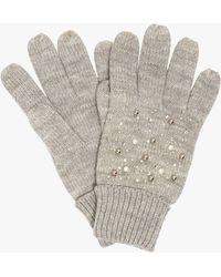 Phase Eight Joni Jewel Glove - Grey
