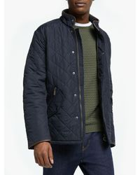 Barbour Lifestyle Powell Quilted Jacket - Blue