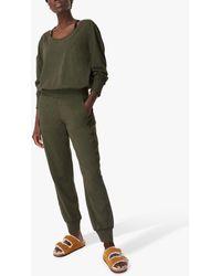 Sweaty Betty Gary Long Sleeve Jumpsuit - Green
