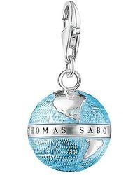 Thomas Sabo - Charm Club Enamel Globe Charm - Lyst