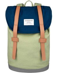 Sandqvist - Stig Mini Organisation Canvas Backpack - Lyst