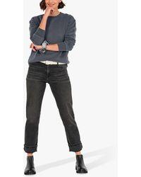 Hush Agnes Straight Leg Jeans - Black
