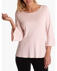 Betty Barclay - Flared Jersey Top - Lyst