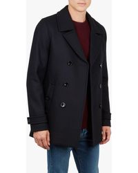 Ted Baker Grilld Peacoat - Blue