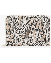 """Ted Baker Barnaby Giraffe Quilted 15"""" Laptop Case - Black"""