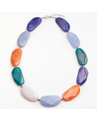 John Lewis - Beaded Statement Necklace - Lyst