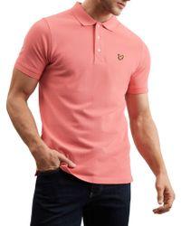Lyle & Scott - Plain Pique Polo Shirt - Lyst