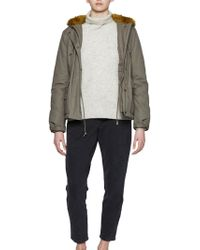French Connection - Syble Parka - Lyst