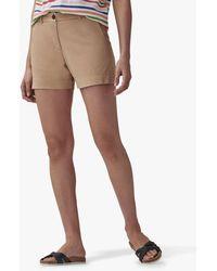 Crew Pembroke Chino Shorts - Natural