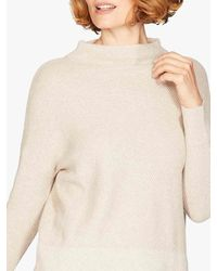 Thought Imogen Organic Cotton And Wool Jumper - Natural