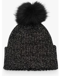 32229f0af French Connection Molly Slouchy Beanie in Black - Lyst