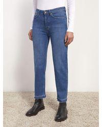 Jigsaw Lea Ankle Grazer Jeans - Blue