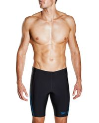 Speedo - Placement Panel Jammer Swim Shorts - Lyst