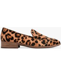 Madewell - Frances Leopard Haircalf Loafers - Lyst