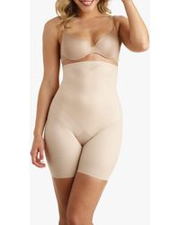 Miraclesuit High Waist Thigh Slimming Shorts - Natural