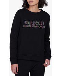 Barbour International Interceptor Sweatshirt - Black