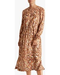Fenn Wright Manson Petite Sandrine Dress - Brown