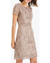 Phase Eight Allanah Embroidered Dress - Multicolour