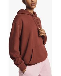 Ghost Organic Cotton Hoodie - Red