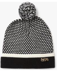 COACH - Icon Wool Charm Hat - Lyst