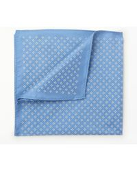 John Lewis - Floral Diamond Silk Pocket Square - Lyst