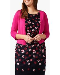 Studio 8 Sizes 16-26 Pink Cara Knit Cover Up
