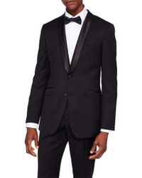 Ted Baker Emmalaj Night Owl Dress Suit Jacket - Black
