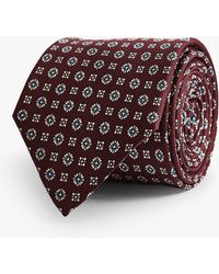 e437ab01a0a4 Reiss - Sterling Medallion Silk Tie - Lyst · Reiss. Sterling Medallion Silk  Tie. £45. John Lewis and Partners