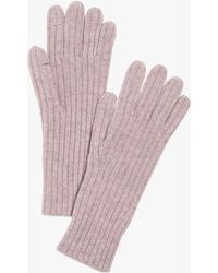 Madewell Ribbed Wool Gloves - Multicolour