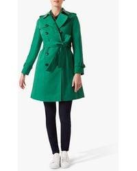 Hobbs Saskia Trench Coat - Green