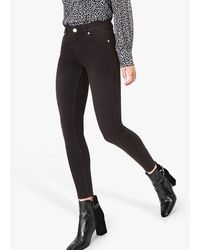 Oasis Washed Jade Stretch Skinny Jeans - Grey