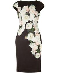 Hobbs - Eleanor Floral-print Dress - Lyst