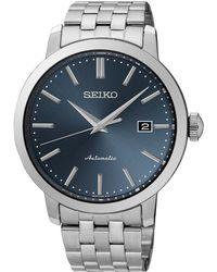 Seiko - Srpa25k1 Men's Automatic Date Bracelet Strap Watch - Lyst
