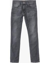 Nudie Jeans Slim Lean Dean Jeans - Grey